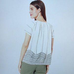 Lucky Brand Tops - NWT🍀Brand Women's Geo Print Smocked Top